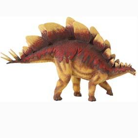 Dino Stegosaurus pintado a mão