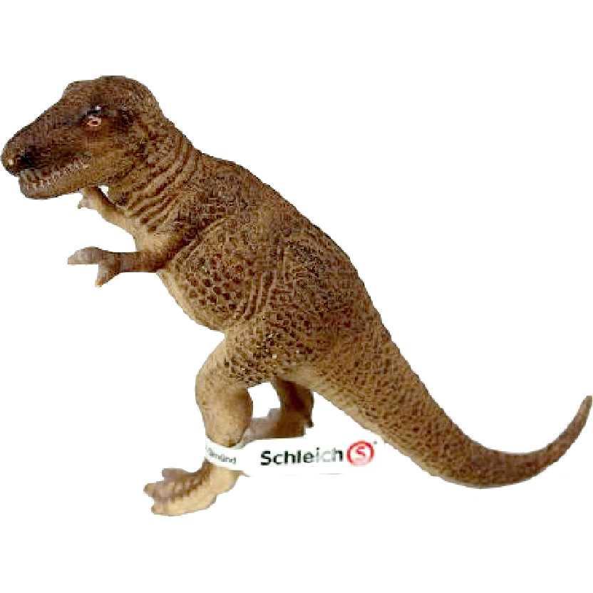 Dinossauro Tiranossauro Rex 14502 marca Schleich Tyrannosaurus rex dinosaur