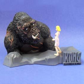 Diorama King Kong na caixa