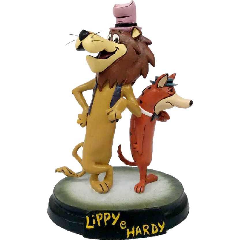 Diorama Lippy e Hardy em resina