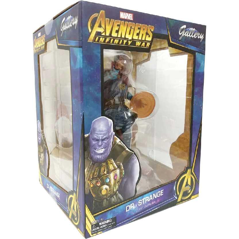 Diorama Marvel Gallery Doutor Estranho Vingadores Guerra Infinita Dr. Doctor Strange