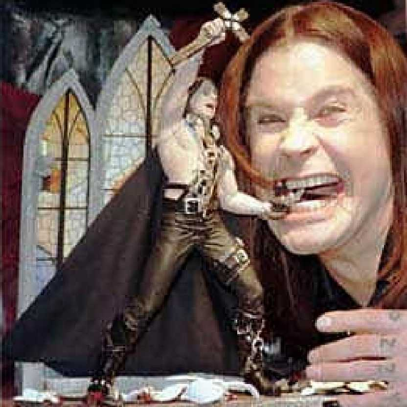 Diorama Ozzy Osbourne (Headless Bats and Doves) McFarlane Toys