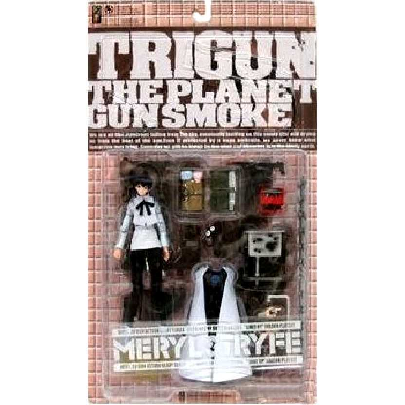 Diorama Trigun The Planet Gun Smoke Meryl Stryfe marca Kaiyodo Action Figures