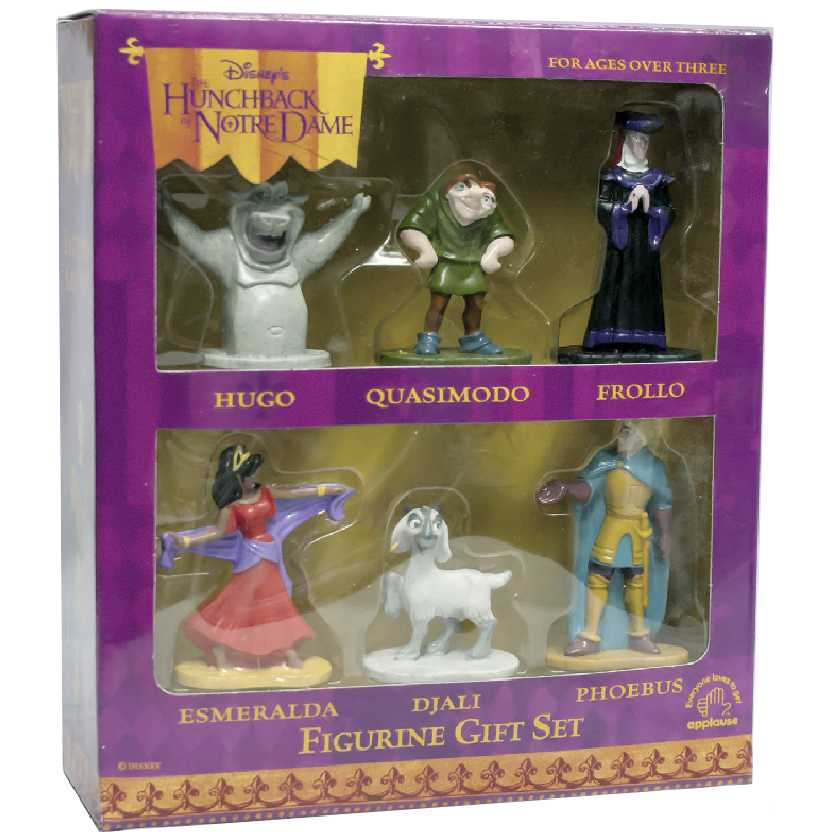 Disney Applause Conjunto Corcunda de Notre Dame Quasimodo + Esmeralda