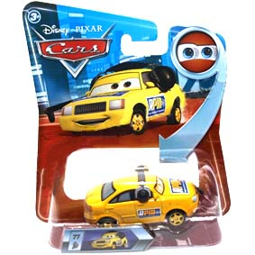 Disney Cars Look My Eyes Change Chief RPM #77