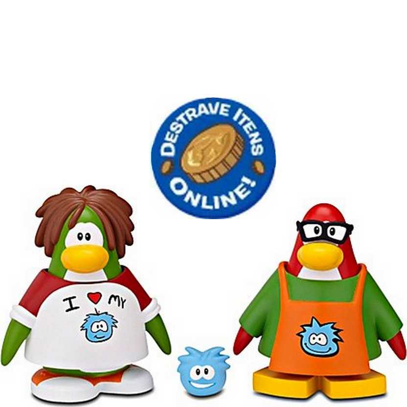 Disney Mix N Match Club Penguin Série 11 Puffle Friend T-Shirt e Puffle Friend Wolrd