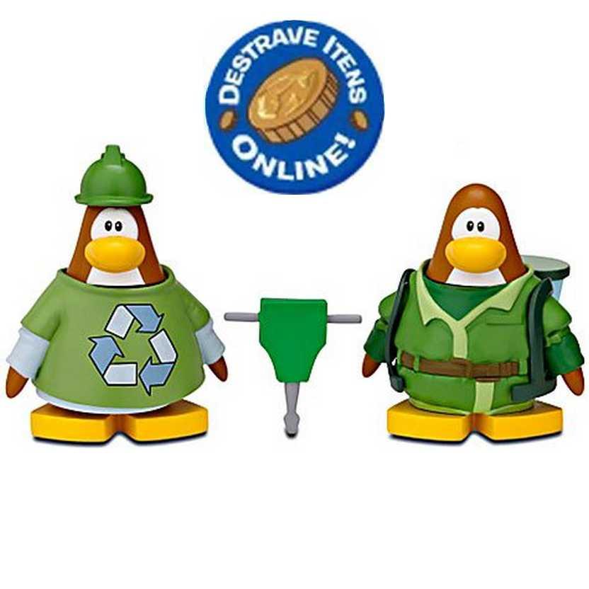 Disney Mix N Match Club Penguin Serie 11 Construction Worker Water Suit 3000