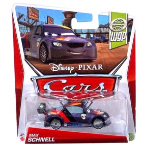 Disney Pixar 2013 Cars Retro Max Schnell WGP World Grand Prix 10/17