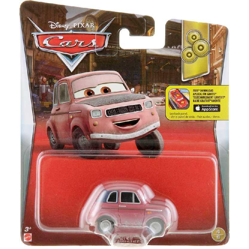 Disney Pixar Carros Justin Partson 4/6 DRC91 Cars Mattel escala 1/55