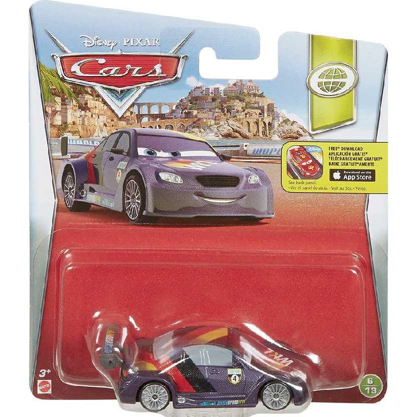 Disney Pixar Carros Max Schnell 6/13 DNK33 Cars Mattel escala 1/55
