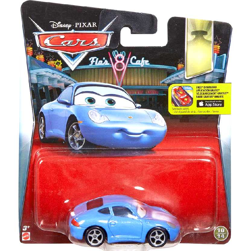 Disney Pixar Carros Sally 10/14 DTD46 Cars Mattel escala 1/55