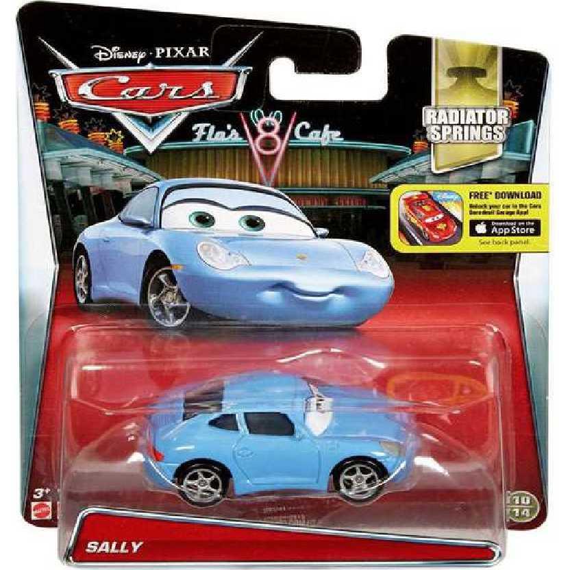 Disney Pixar Carros Sally escala 1/55 Cars Radiator Springs 10/14 comprar online no Brasil