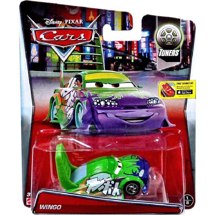 Disney Pixar Carros Wingo Cars Tuners diecast escala 1/55 número 1/8