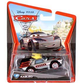 Disney Pixar Cars 2 Kabuto filme Carros 2 Disney ( Kabuki Kabuto Boost Boasted ) raridade