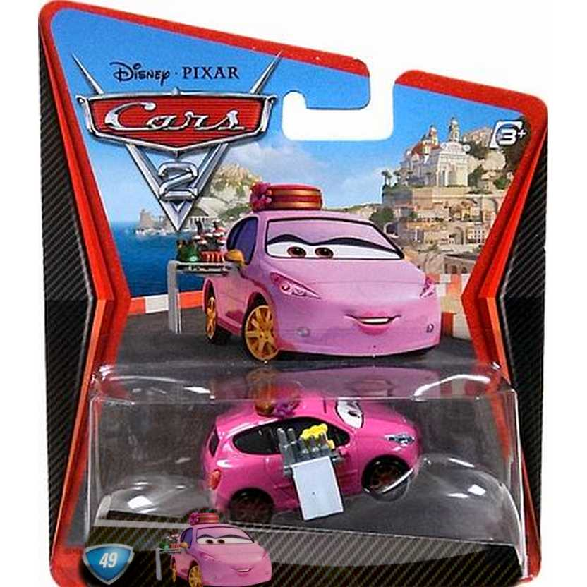 Disney Pixar Cars 2 - Mary Esgocar #49 escala 1/55
