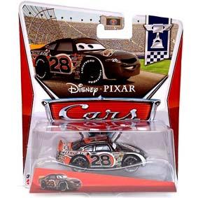 Disney Pixar Cars 2013 : Retro PC Piston Cup 10/18 Nitroade NO. 28