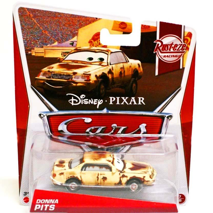 Disney Pixar Cars 2013 Retro Rust-eze Racing Donna Pits 7/8 escala 1/55