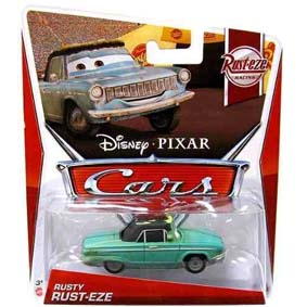 Disney Pixar Cars 2013 Retro Rust-eze Racing Rusty Rust-Eze 3/8