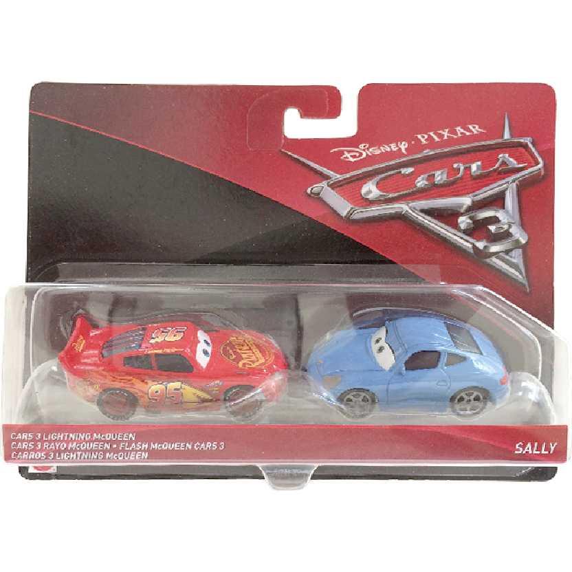 Disney Pixar Cars 3 / Carros 3 Lightning McQueen e Sally DXW05
