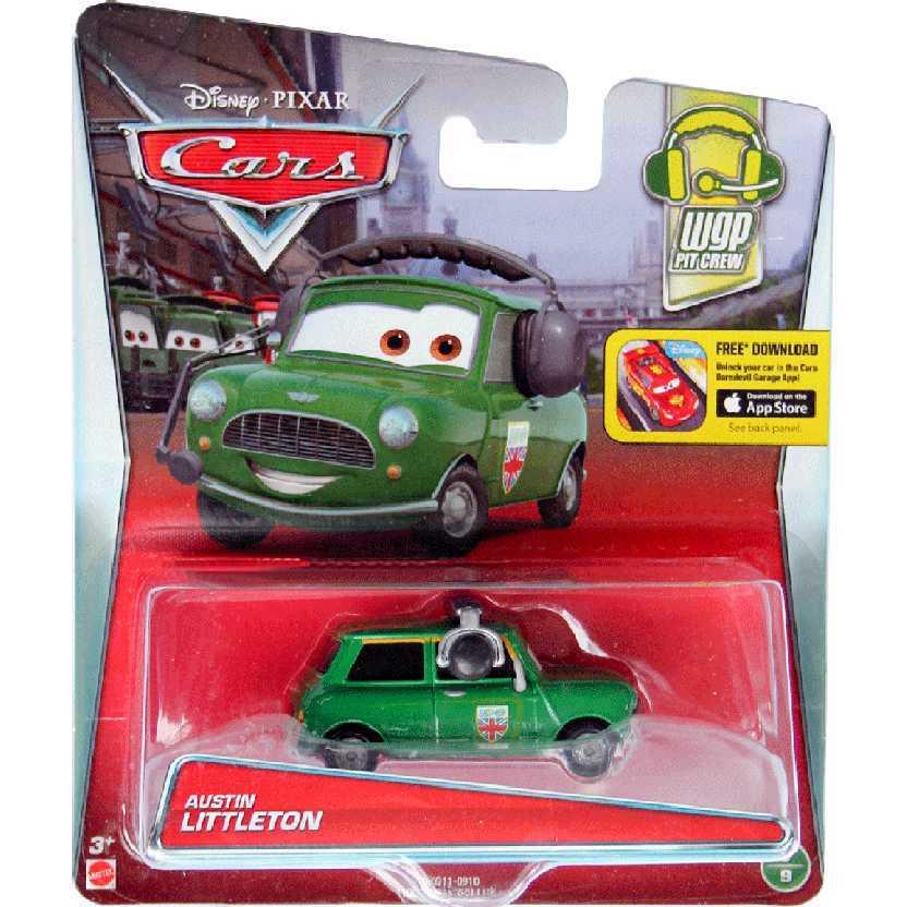 Disney Pixar Cars Austin Littleton Carros escala 1/55 WGP Pit Crew 5/9