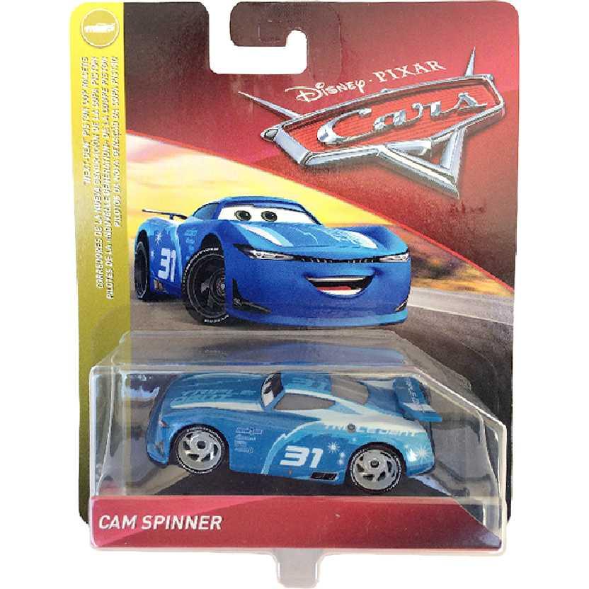 Disney Pixar Cars Carros 3 Cam Spinner #31 Mattel FLM35 escala 1/55
