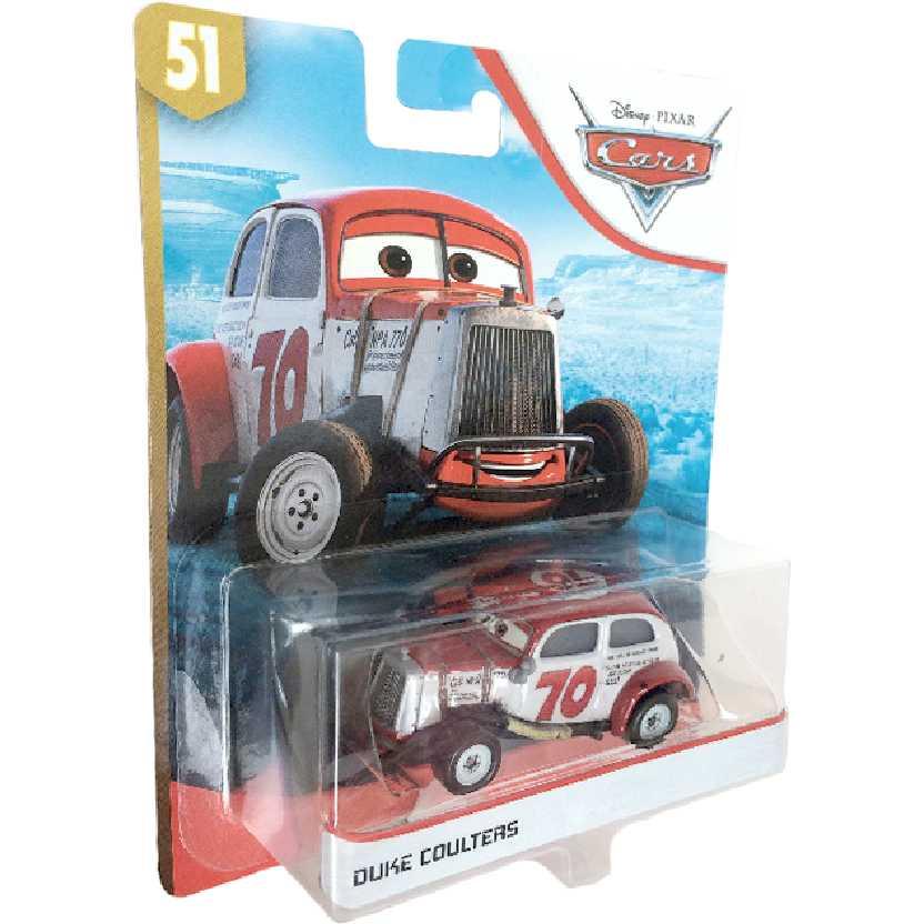 Disney Pixar Cars Carros 3 Duke Coulters número 51 Mattel FLL95 escala 1/55