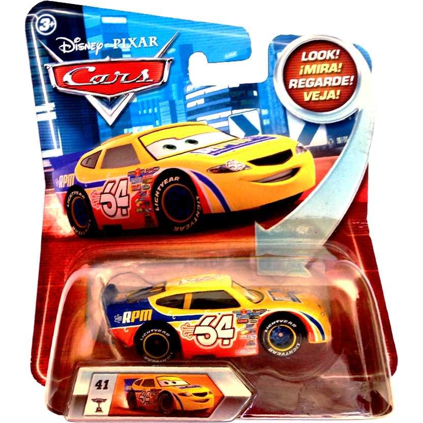 Disney Pixar Cars (Carros) RPM #64 com movimento nos olhos escala 1/55
