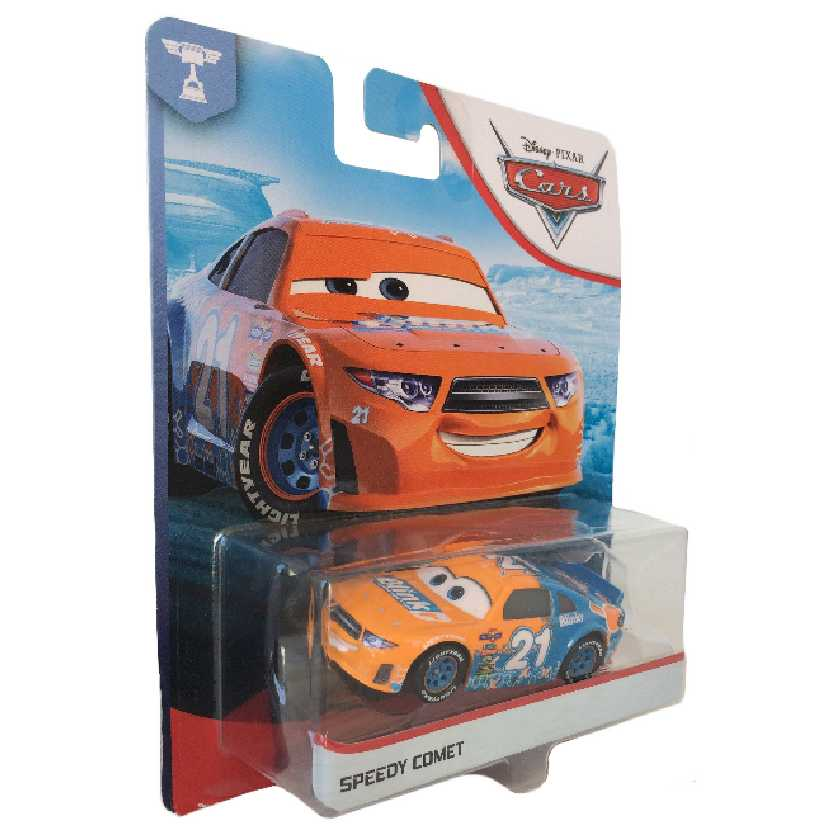Disney Pixar Cars Cars Speedy Comet #21 GBY22 Piston Cup Racer