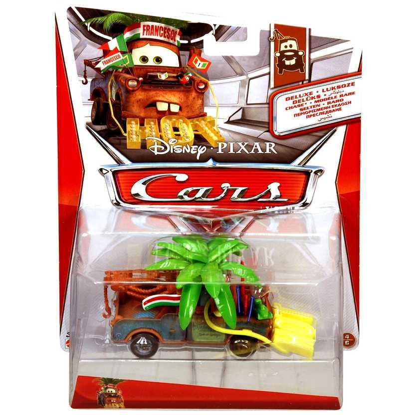 Disney Pixar Cars Deluxe Francesco Fan Mater - Mattel escala 1/55