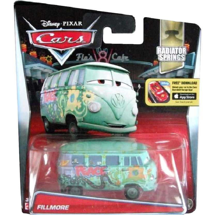 Disney Pixar Cars Fillmore Carros escala 1/55 Radiator Springs 18/19