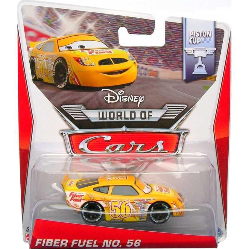 Disney Pixar Cars Piston Cup Fiber Fuel número 56 13/16 Mattel escala 1/55