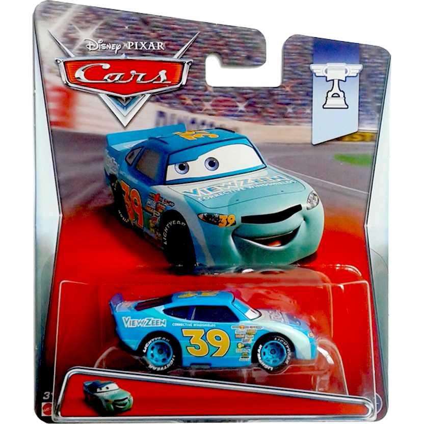Disney Pixar Cars Piston Cup Ryan Shields número 39 11/18 View Zeen Mattel escala 1/55