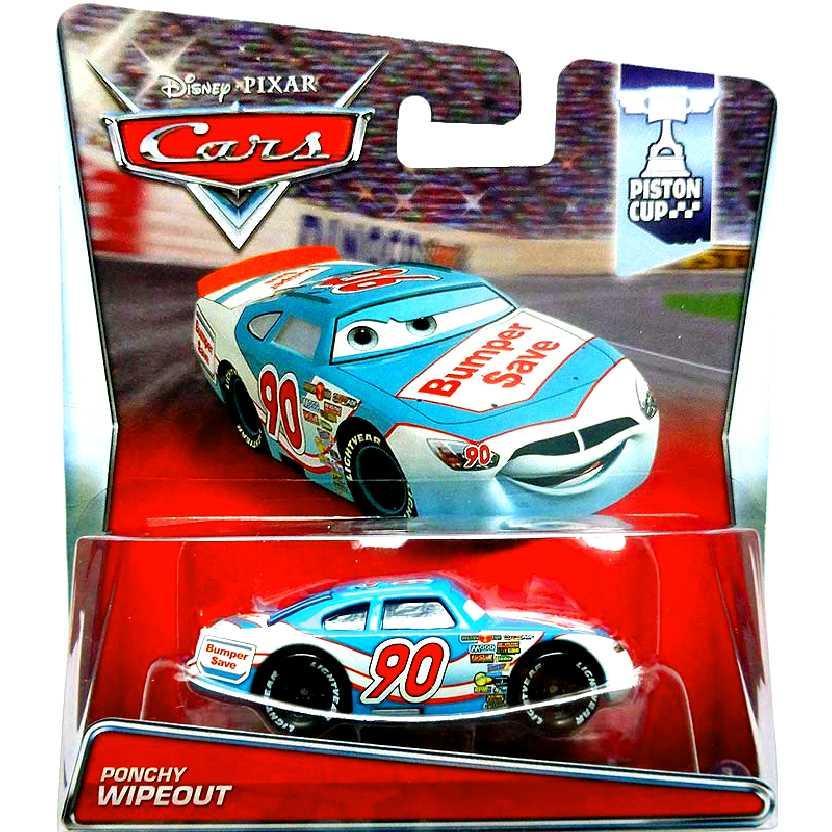 Disney Pixar Cars Ponchy Wipeout Piston Cup 3/18 Carros da Mattel escala 1/55