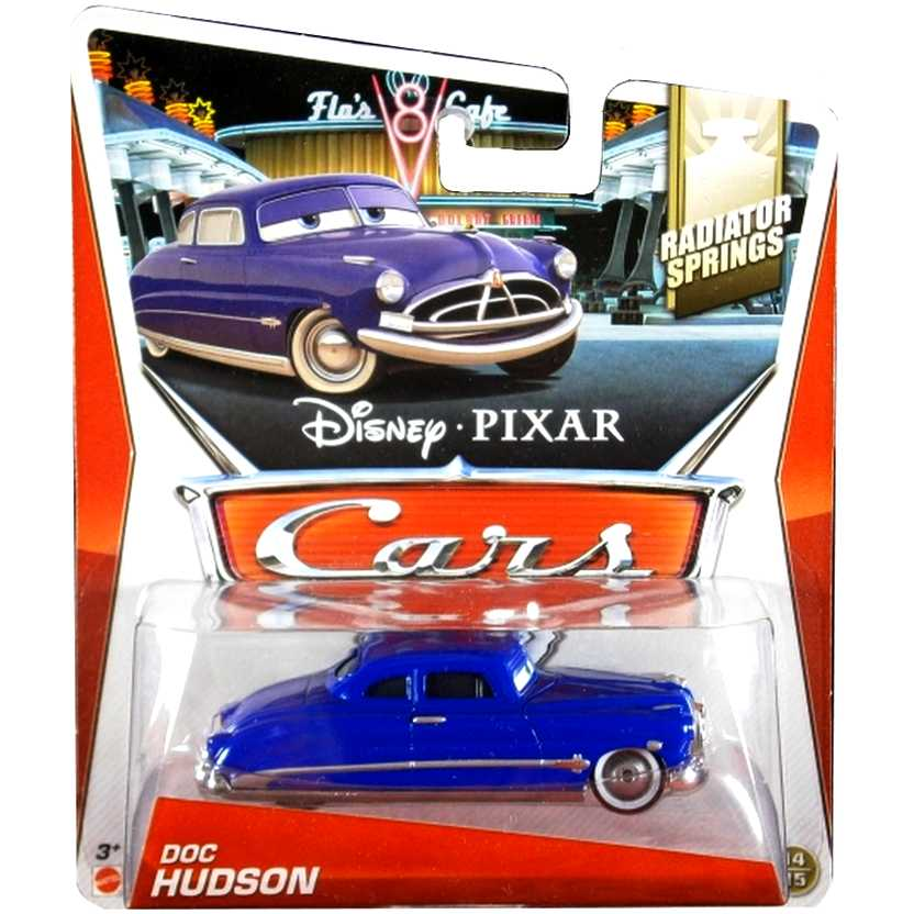 Disney Pixar Cars Radiator Springs 14/15 Doc Hudson escala 1/55