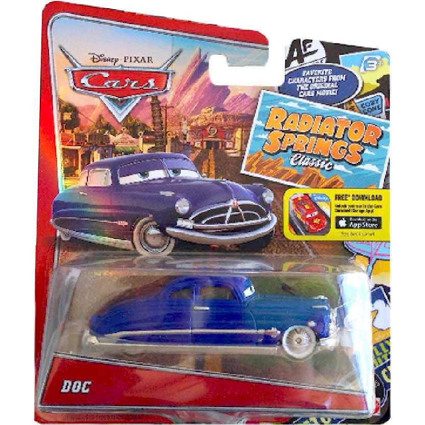 Disney Pixar Cars Radiator Springs Classic Doc Hudson Mattel Carros escala 1/55