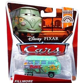 Disney Pixar Cars Retro 2013 WWM Wheel Well Motel 6/11 Fillmore VW Kombi