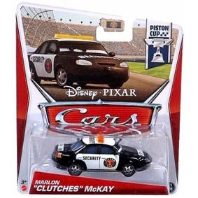Disney Pixar Cars Retro PC Piston Cup 11/18 Marlon Clutches McKay
