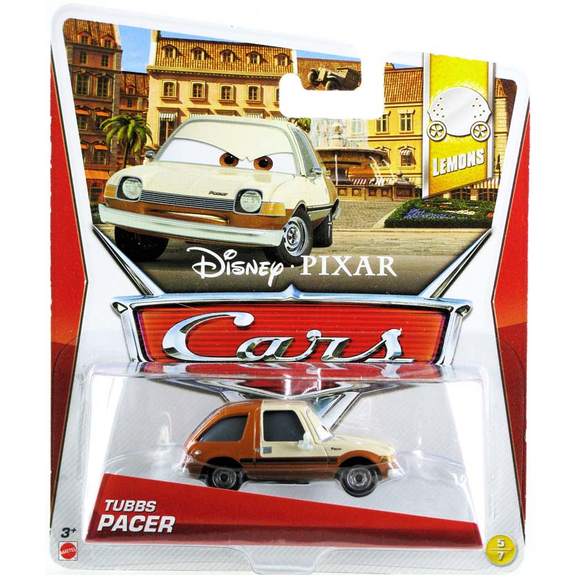 Disney Pixar Cars Retro Tubbs Pacer Lemons 5/7