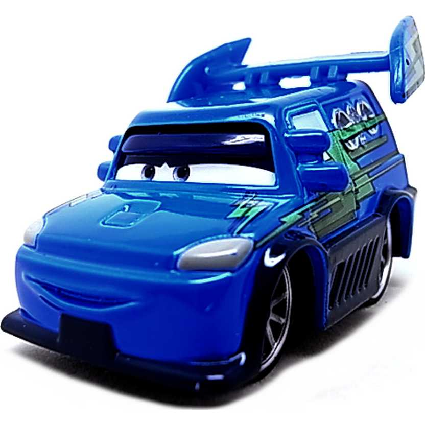 Disney Pixar Cars Retro Tuners 4/8 DJ with flames