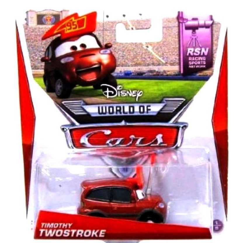 Disney Pixar Cars RSN Racing Sports Network Timothy Twostroke #95 1/8
