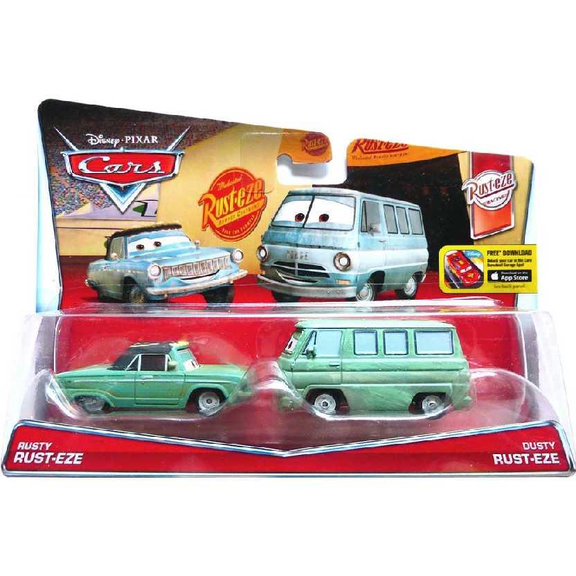 Disney Pixar Cars Rusty Rust-EZE 11/12 e Dusty Rust-EZE 12/12 (Carros)