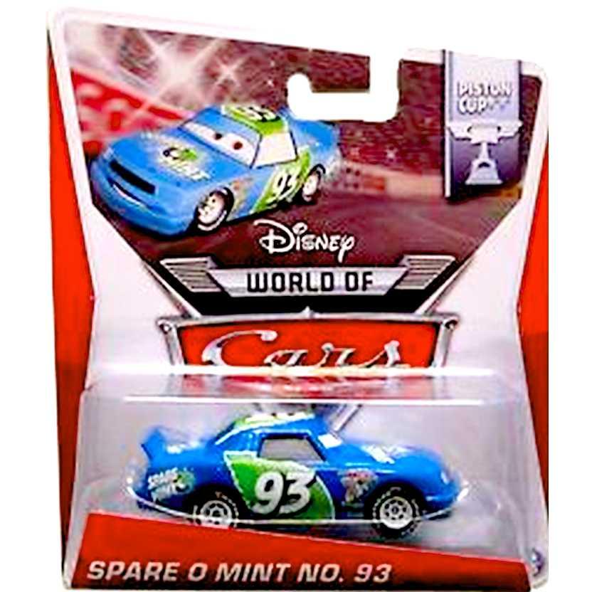 Disney Pixar Cars Spare O Mint NO. 93 Piston Cup 16/16 escala 1/55