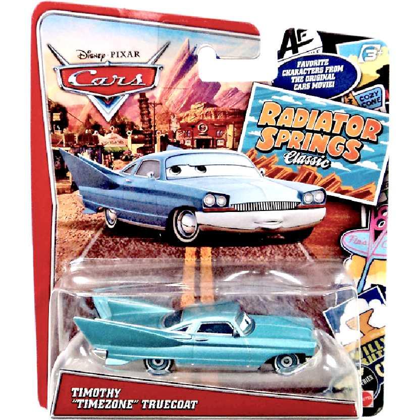 Disney Pixar Cars Timothy Timezone Truecoat marca Mattel escala 1/55