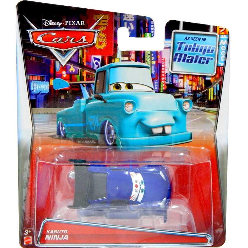 Disney Pixar Cars Tokyo Mater - Kabuto Ninja - Mattel escala 1/55