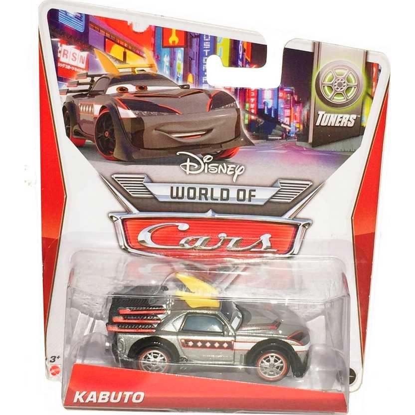 Disney Pixar Cars Tuners 5/8 Kabuto escala 1/55