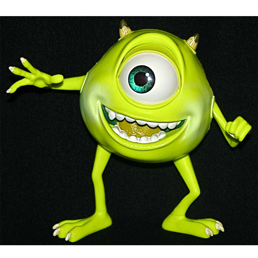 Disney Pixar Monsters Inc Mike Wazowski com som e movimento no olho (2001) Hasbro