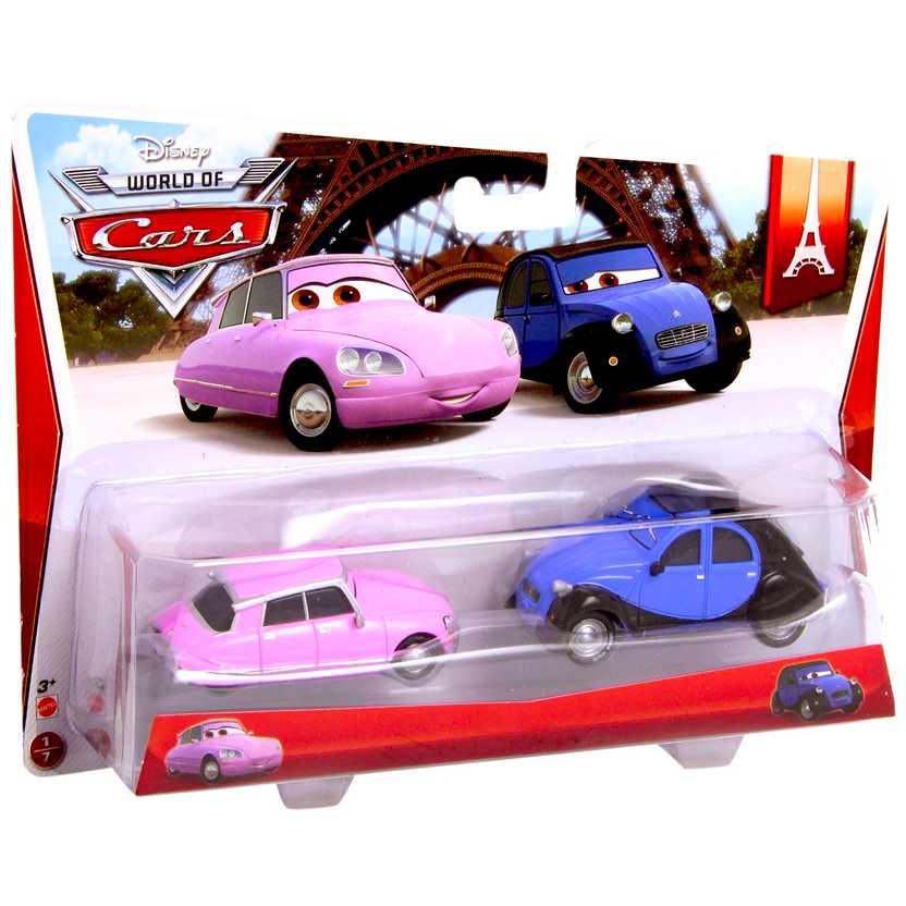 Disney World of Cars Paris Tour 2/7 Nancy e John escala 1/55