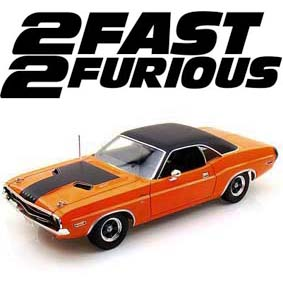 Dodge Challenger R/T (1970) 2 Fast 2 Furious marca Greenlight escala 1/18