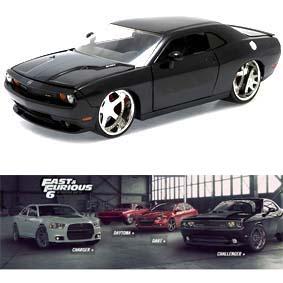 Dodge Challenger Srt8 2008 similar do filme Velozes e Furiosos 6 (Jada Toys) escala 1/24