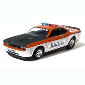 Dodge Challenger SRT8 Alberta Police Service (Greenlight 2008) Carro da Polícia